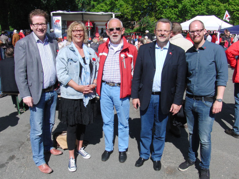 Foto: 1. Mai 2014 in Bargteheide