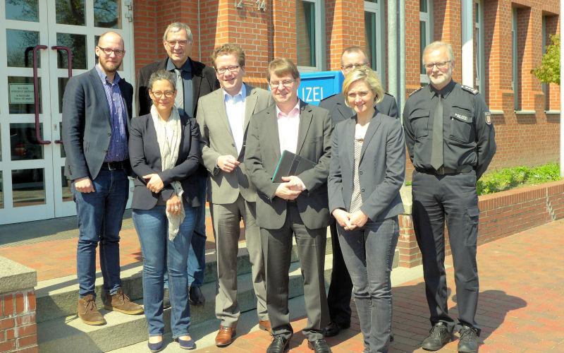 Foto: Besuch bei der PD Ratzeburg