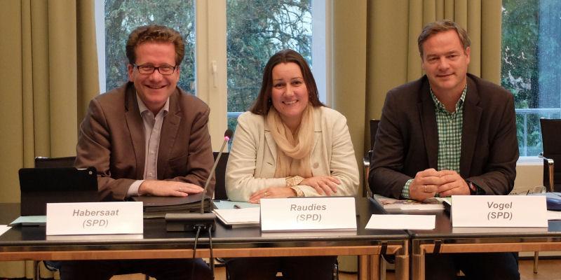 Foto: SPD im Billdungsausschuss