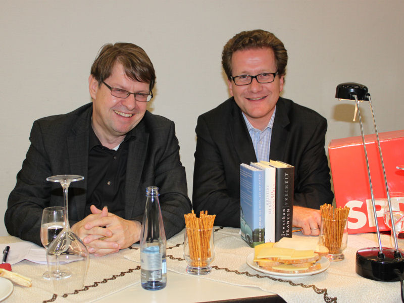 Ralf Stegner und Martin Habersaat