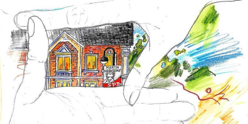 Urban Sketching Oststeinbek