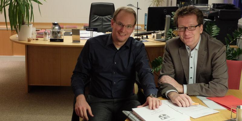 Foto: Björn Warmer und Martin Habersaat