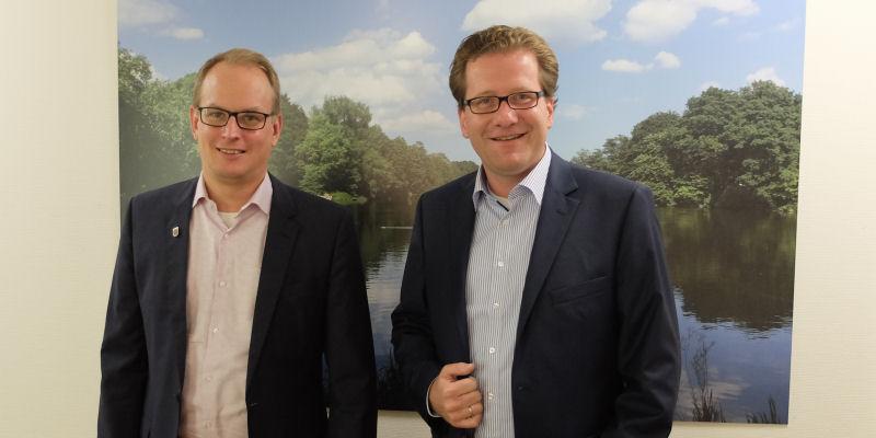 Björn Warmer und Martin Habersaat