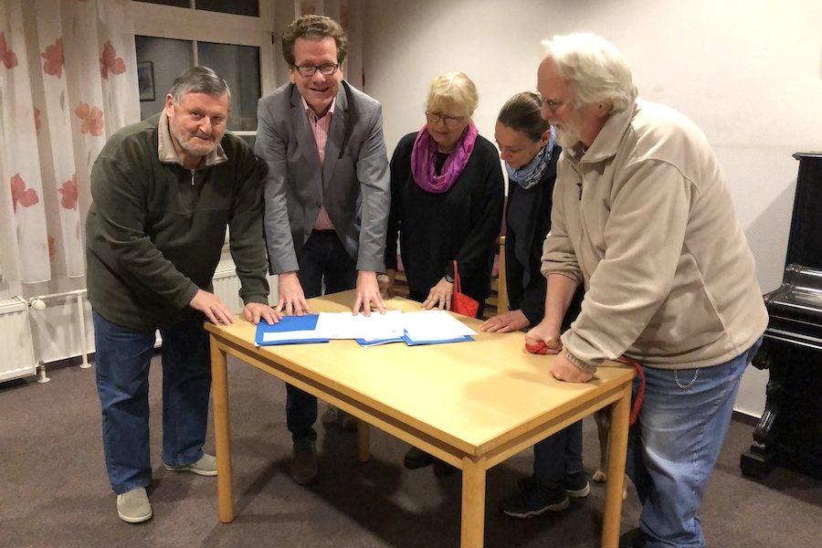 Kommunalpolitische Runde in Oststeinbek