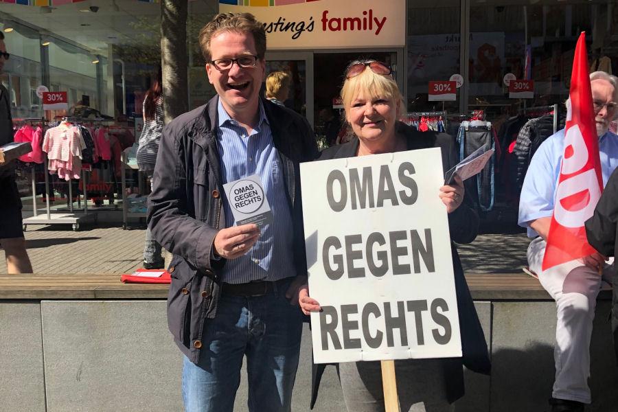 Martin Habersaat und Ina Hoffmann