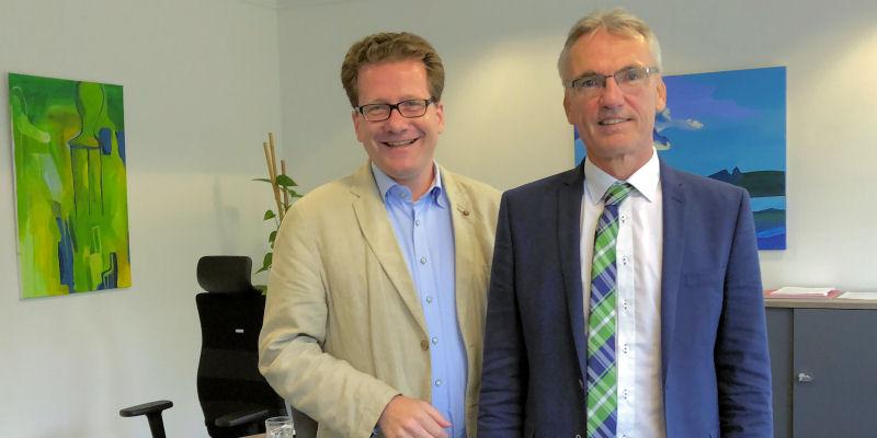Martin Habersaat und Dirk Petersen