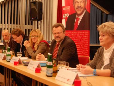 Foto: Diskussion in Reinbek